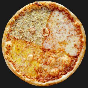 Доставка пиццы Четыре сыра в Омске – Пиццерия «Перцы»