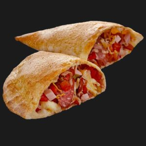 Доставка пиццы Гранд кальцоне мясной в Омске – Пиццерия «Перцы»