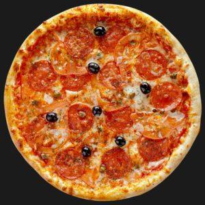Доставка пиццы Пепперони в Омске – Пиццерия «Перцы»