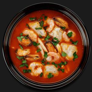 Итальянская похлёбка с морепродуктами – Пиццерия «Перцы»