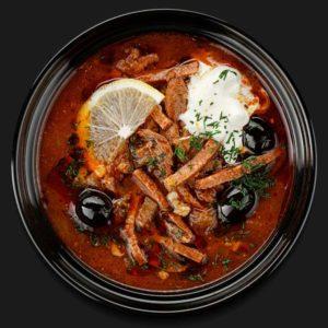 Солянка мясная – Пиццерия «Перцы»